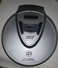 Electro CD MP3 Player digital anti shock Model QCD186-120/45 Seconds