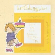 TINY TALES REVERSIBLE FRAMES FROM MY MINDS EYE ~ BIRTHDAY WISHES