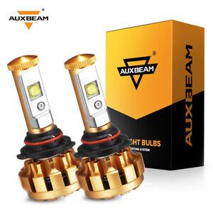 AUXBEAM F-16 LED Headlight Kit 9006 HB4 Low Beam Fog Bulbs 6500K White Bright 2x
