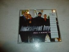 BACKSTREET BOYS - All I Have To Give - 1997 UK 4-track CD single