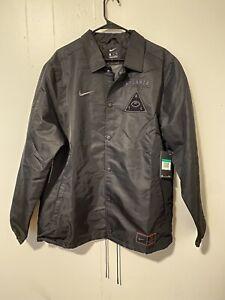 A MA MANIERE X Nike ATL Limited Jacket AO1258 010 Men's Size XL Black NWT $250