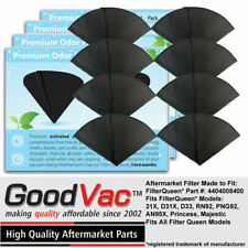 Activated Charcoal Cones 2 Pack Odor Filters Non-OEM fit Filter Queen Vacuuum