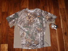Nwt Mens Realtree Xtra Timberwolf Camouflage Performance Shirt Scent Factor Xl