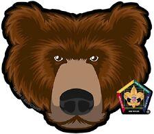 Wood Badge Bear Car Window Sticker