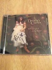 SIGNED - The Story of My Life by Deana Carter CD + Photo New Unplayed