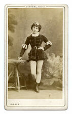ANTIQUE CDV PHOTO~FRENCH OPERA SINGER EUGENIE CLEMENTINE ELISA DURIE~DISDERI
