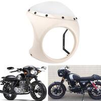 """7"""" Motorrad Verkleidungen Scheinwerfer Lampenmaske Verkleidung mit Windshild"""