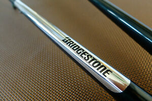 Bridgestone bicycle Vintage logo retro Chrome Vinyl Chainstay Protector frame