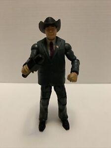 WWE Mattel Elite Jim Ross JR Announcer Wrestling Figure ⚡️shipping