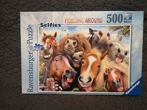 Ravensburger Selfies - No 1 - Horsing Around - 500pc Jigsaw Puzzle