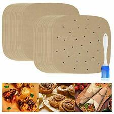 New listing Parchment Paper for Air Fryer, 9 Inch Liners 9in parchment paper unbleached