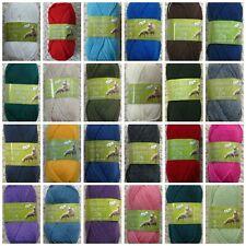 DK Knitting Wool 50g Ball Merino 100% Wool DK Yarn King Cole