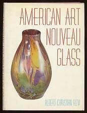 Albert Christian REVI / American Art Nouveau Glass First Edition 1968