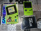 Nintendo Game Boy Color Lima (Lime) Excelente PAL ESP