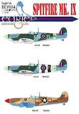 EagleCals Decals 1/72 SUPERMARINE SPITFIRE Mk.IX Fighter Part 1