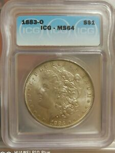 US Morgan Silver 1883 - ICG MS64