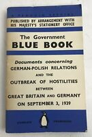 The Government Blue Book - 1939 - First Edition - Paperback Penguin - Rare Book