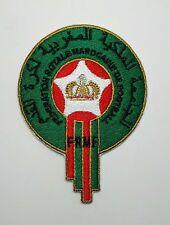 Football National Team Morocco logo iron on Patch Aufnaeher Applique Embroider