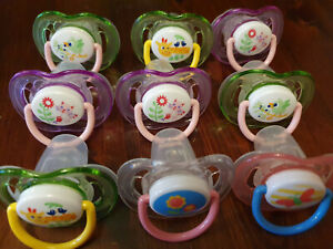 9X Philips Avent Soother 18m+ GIRL