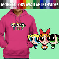 Powerpuff Girls 90s Nostalgia Cartoon Classic Pullover Sweatshirt Hoodie Sweater