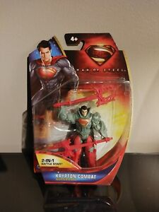 SUPERMAN MAN OF STEEL KRYPTON COMBAT SUPERMAN