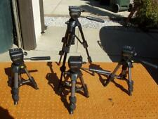 """4 VANGUARD MARS 1 TABLE TRIPODS BUBBLE LEVEL 11""""-20"""" GOOD CONDITION + ISSUE"""