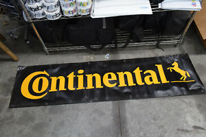 Continental Tires Vinyl Shop Banner - USED   2-1-B