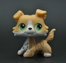Without Magnet Pet Littlest Collie Dog Child Girl Figure Toy Loose Cute LPS927