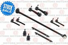 For Dodge B1500 95-98 Drag Link Tie Rods Ball Joints Idler Arm Adjusting Sleeves