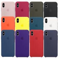 2018 fabricante de equipo original Nueva Funda Cubierta de Silicona para Apple iPhone X 100% Original