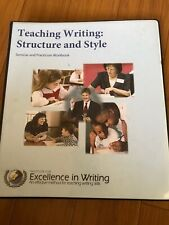 IEW Teaching Writing Structure and Style, 1st edition, 2010, Homeschool