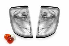 Mercedes E Class W124 85-95 Front Clear Indicators Repeaters Pair Set Left Right