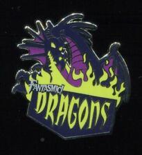 DLR Disneyland Mascots Mystery Fantasmic! Dragons Maleficent Disney Pin 115964