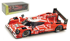 1/43 Spark S4638 Porsche Hybrid 919 2nd Place 24hrs Lemans 2015 #17