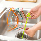 Kitchen Sink Drain Cleaner Tool Bathroom Toliet Removal Clog Hair Dredge Tool HF