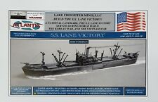 SS Lane Victory Merchant Marine Cargo Ship Paper Boat Model Atlantis Toy & Hobby