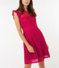 MONSOON - GISELA LACE DRESS - 19 Berry - Size 16(Brand New With Tag)