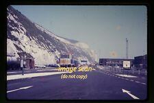 c.1970 Ferries Hovercraft Sign in England UK trucks lorry, Original Slide d4a