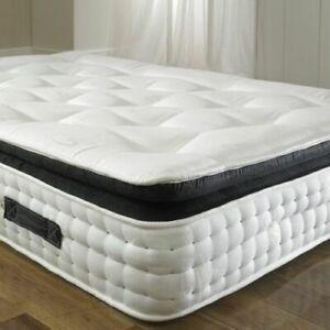 The Pocket 3000 Sprung Organic Pillow Top Mattress - All Sizes