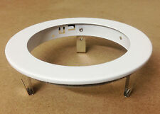"4"" INCH RECESSED CAN LIGHT TRIM BAFFLE RING - WHITE"