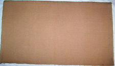 New Oversize Pure Wool Beige Tan Camel Show Saddle Blanket Pad 3.75 Lbs 35 X 40