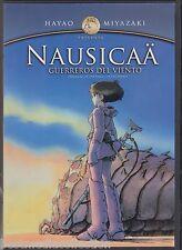 Nausicaa Guerreros Del Viento DVD NEW Hayao Miyazaki SEALED