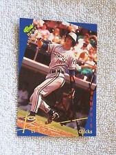 Kansas City Royals Phil Hiatt Signed 1993 Classic Best Gold Card Auto