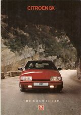 Citroen BX 1989-90 UK Market Sales Brochure 14 16 19 GTi 16v 17D 19D D Turbo