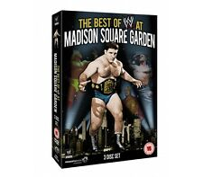 Official WWE The Best of WWE At Madison Square Garden DVD - 3 disc