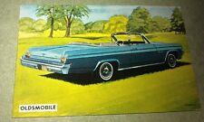 1963 OLDSMOBILE Starfire Conv  - Sanitarium Weetbix New Zealand Swap Card - RARE