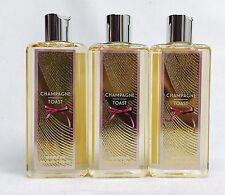 3 Bath Body Works Champagne Toast Body Wash/Shower Gel 8.4 oz
