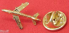 Aeroplane Aircraft Pilot Lapel Hat Tie 3D Pin Badge Aviator Plane Gift Souvenir