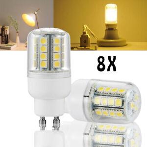 8X 4W GU10 LED Birne Garten Leuchtmittel Energiespar Glühbirne Licht Birne Warm