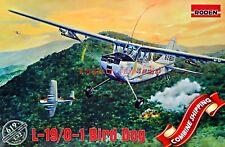 Roden 1/32 Cessna L-19/0-1 Bird Dog Model Kit No. 619 Usaf Aircraft Army Ukraine